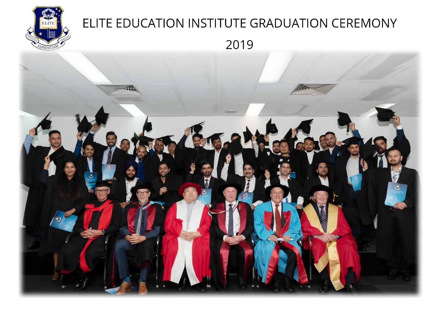 2019 Elite Education Institute Graduation Ceremony